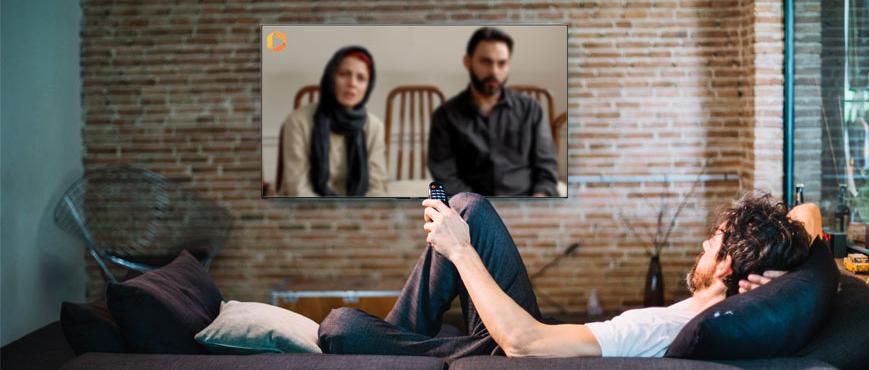 دیدن فیلم و سریال با فیلیمو روی تلویزیون